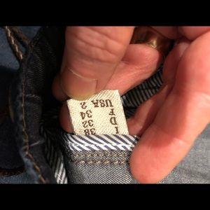 Brunello Cucinelli Jeans - Brunello Cucinelli denim distressed drawstring 38